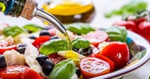 Colorful, healthy salad