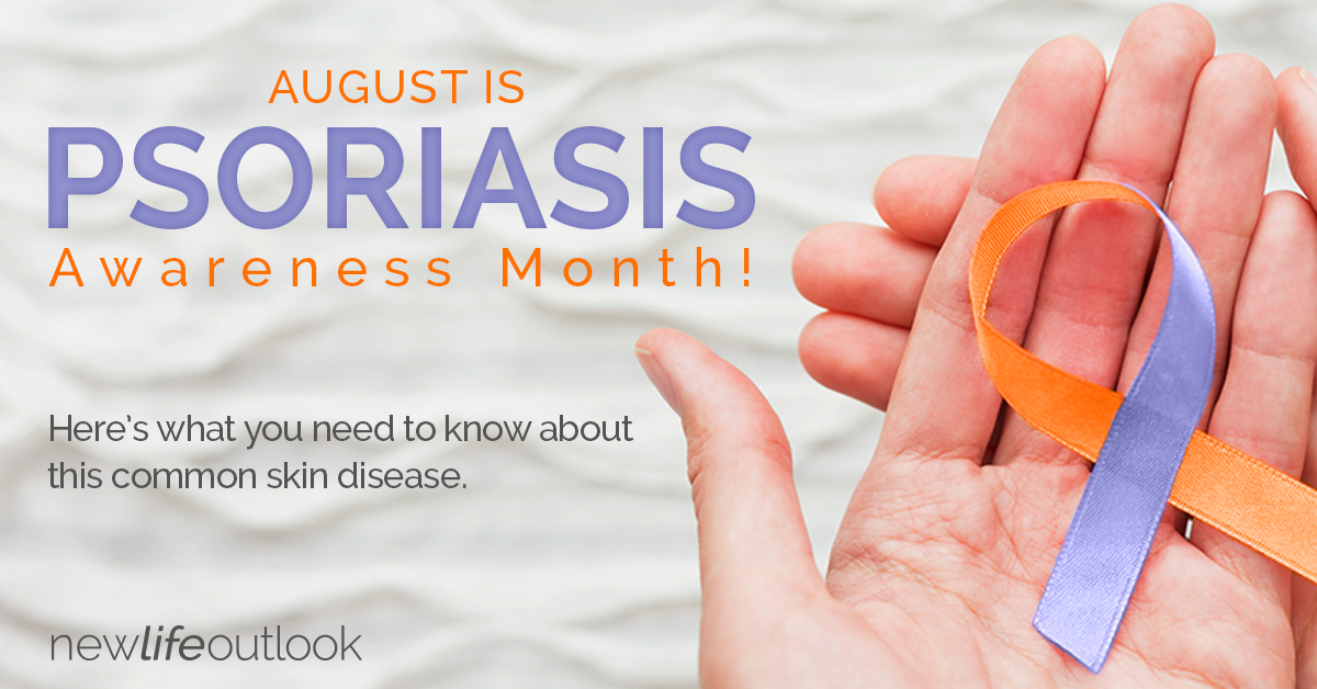 Psoriasis Awareness infographic: New Life Outlook  Infographic