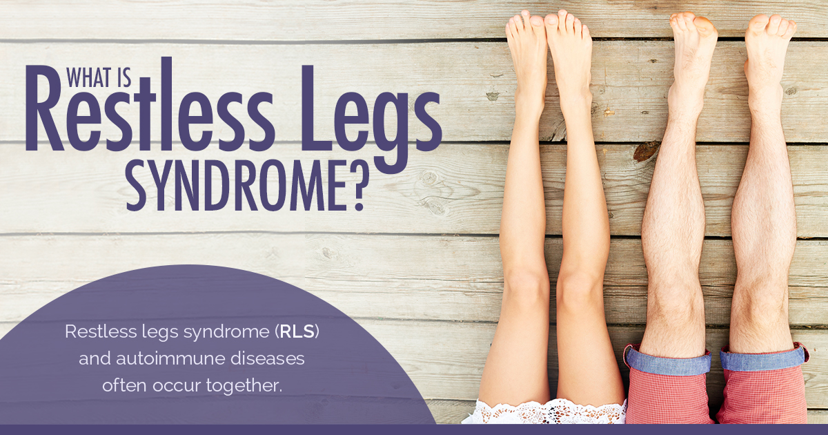 New Life Outlook -  Infographic: Psoriasis and Restless Legs Syndrome