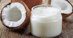 Coconut oil and coconut shells
