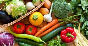 An assortment of vegetables